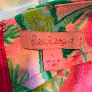 Lilly Pulitzer Dresses - Lilly Pulitzer Sadie Romper Raz Berry Catty Shack